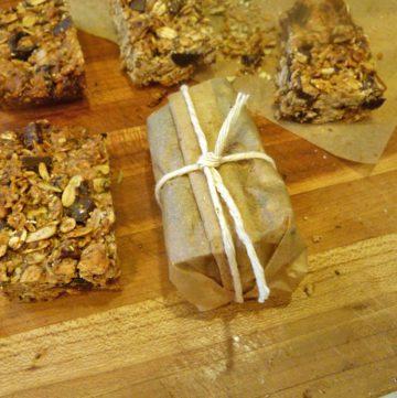 Healthy Granola Bars. Refined sugarfree