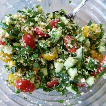 Tasty Tabbouleh with a twist