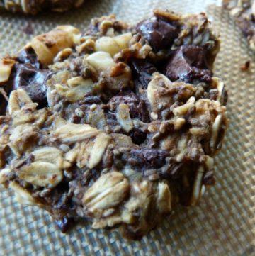 Healthy Cookies. Vegan. Glutenfree. No refined sugar