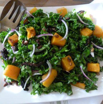 Thanksgiving Butternut Squash Salad