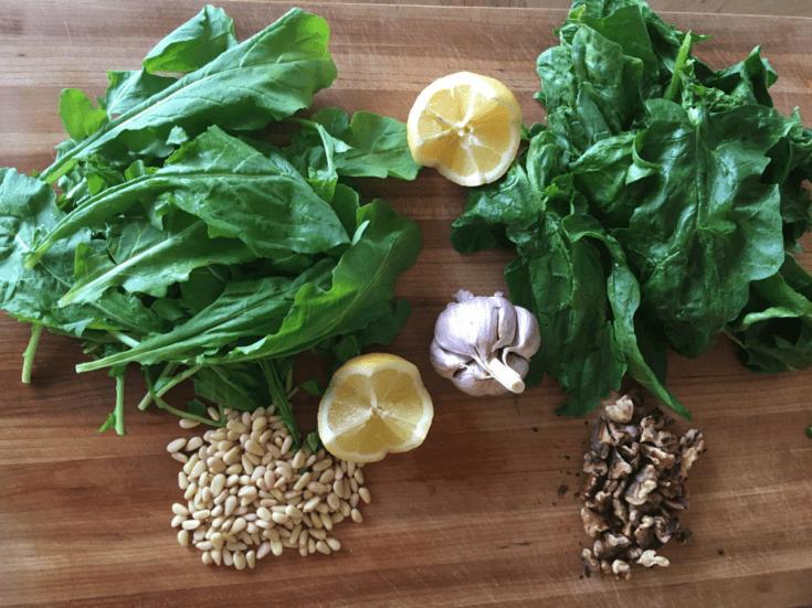 Arugula Spinach Pesto