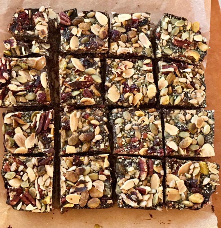 Oatmeal Chocolate Trail Bars