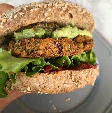 Simple Veggie Burger