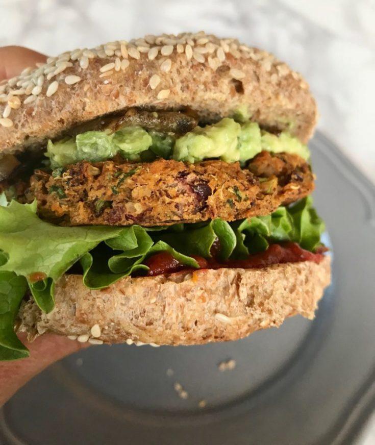 Simple Veggie Burgers