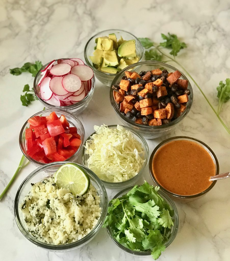 Vegan Enchilada Bowls
