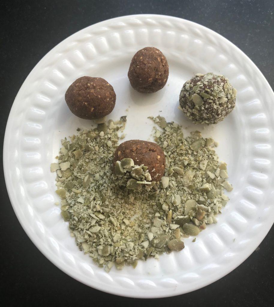 Pumpkin Spice Bliss Balls, Vegan and Gluten-free