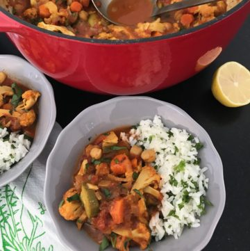 Vegan Spiced Chickpea Stew
