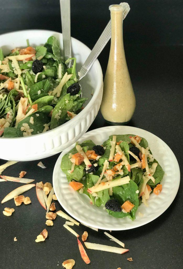 Harvest Salad + Apple Vinaigrette