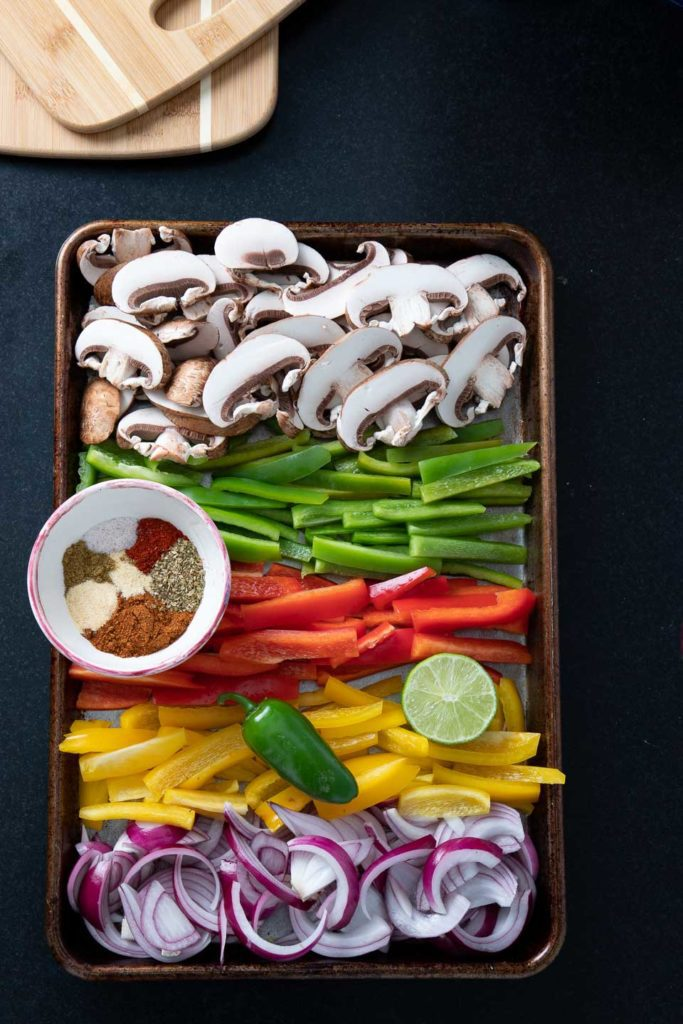 Sheet Pan Veggie Fajitas Seasoning